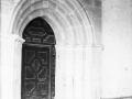 """""""Apotzaga. Puerta románica de la iglesia"""""""