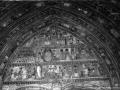 Deba. Ate gotikoaren detaileak. XIV. mendeko tinpanoa