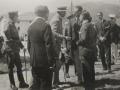 Alfonso XIII eta beste agintari batzuk automobilismo lehiaketan