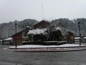 Estación de ferrocarril.