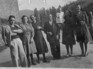 Familiares de Luisa Zurutuza