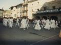 Muxikoak eta Azkaindar dantzak herriko plazan ihauteritan