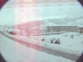 Paisaje nevado de Oñati