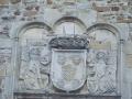 Bidaurreta monasterioko mendebaldeko fatxadako armarria