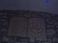 Bidaurreta monasterioko barrukaldeko armarriak
