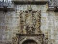 Escudo de Carlos V en la Universidad de Sancti Spiritus