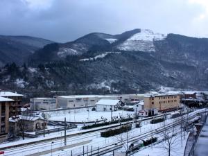 Primera nevada del año
