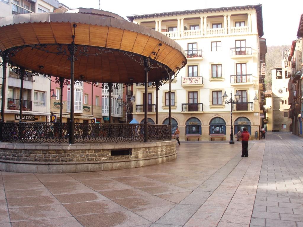 Kiosko de la música de Musika Plaza
