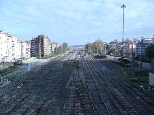 Las vías del tren