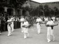 RECIBIMIENTO DEL OBISPO JAIME FONT Y ANDREU A LA LOCALIDAD DE VILLABONA. (Foto 9/25)