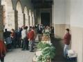 San Isidro eguneko feria Errukizko Amaren parrokia elizako arkupetan