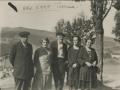 Serapio Mujika, Remedios Casadevante, Polikarpo Elosegi eta Maria Irazusta Liernian