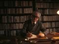 Julio Caro Baroja bere estudioan.