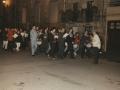 Txistulariak Antzuolako kaleetan zehar Olentzeroren egunean