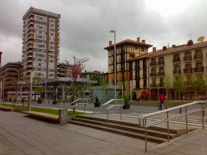 Biteri plaza ingurua