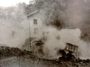 Demolición del caserío Larrea