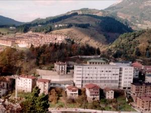 Las antiguas casas del Paseo Arrasate (años 90)