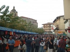 Sagardo eguna Urnietako plazan