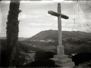 VISTA DE LA LOCALIDAD DE ALTZO DESDE LA CRUZ DE ORENDAIN. (Foto 1/1)