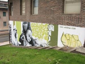 Dizebiren graffitia.