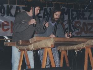 Txalapartariak Santa Fe jaietan