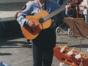 Gitarrajolea Santa Fe jaietan
