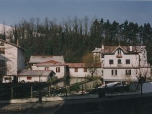 Kanpain, Imaz eta Olano etxeak Santa Fe Kaletik