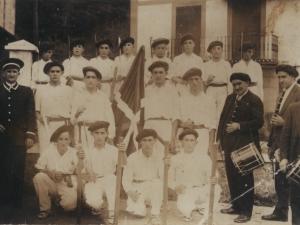 Zaldibiako dantza taldea