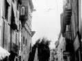 Calle mayor con torre Luzea