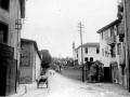 Hospital y carretera de Azkoitia